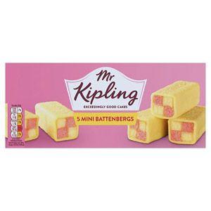 d36265fc31 Mr Kipling Battenberg Cake - Cakes Mr Kipling